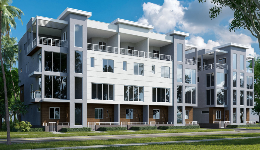 This isn't just your everyday luxury townhome development